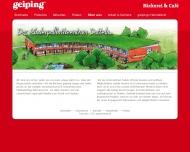 Bild Geiping Wilhelm GmbH & Co. KG Bäckerei