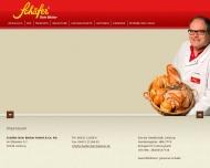 Website Schäfer, dein Bäcker