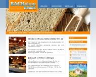 Bild Webseite Backshop Beims Magdeburg