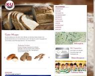 Website K & U Bäckerei