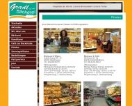 Website Bäckerei & Frischmarkt Gradl