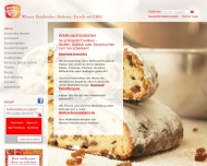 Website Wiener Feinbäckerei