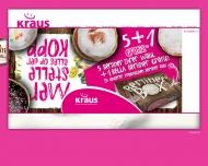 Bild Webseite Bäckerei Kraus Köln