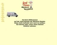 Bild Webseite Remke Josef Bäckerei Spelle