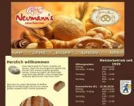 Neumanns kleine Backstube - Home