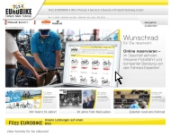 Website FLIZZ Eurobike