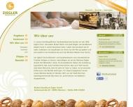 Website Bäckerei Konditorei Ziegler Bäckerei