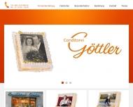 Bild Webseite Göttler Konditorei-Cafe Cafe-Tela München