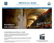 Bild Weitz & Co. GmbH Tiefbau, Kanalbau, Rohrleitungsbau