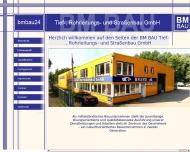 Bild BM-Bau Tief-, Rohrleitungs- und Straßenbau GmbH