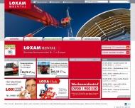 Bild LOXAM GmbH Baumaschinenvermietung