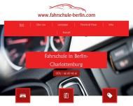 Bild Webseite Fahrschule Lieser Berlin