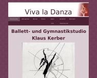 Bild Webseite Kerber Klaus Ballettschule Viva la Danza München