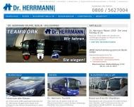 Bild Webseite Dr. Herrmann Berlin