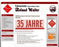 Bild Webseite Fahrschule Walter Roland Bad Säckingen