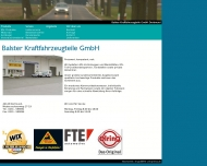 Website Balster Kraftfahrzeugteile