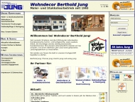 Bild Webseite Berthold Jung Spiesen-Elversberg