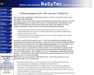 Website BaSyTec