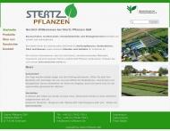Website Stertz Pflanzen