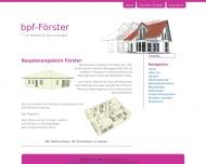Bild Bauplanungsbüro Förster
