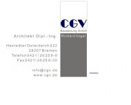 Bild CGV Bauplanung GmbH