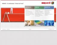 Bild Webseite IMPARAT Farbwerk Iversen & Mähl Wedel