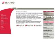 Website Barg-Beton Holding