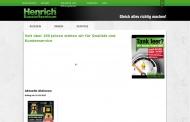 Bild Henrich GmbH & Co. KG Baustoffzentrum