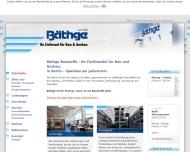 Bild Bäthge Baustoffe GmbH & Co. KG