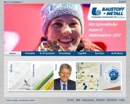 Bild Webseite B + M Baustoff + Metall Handels Nürnberg