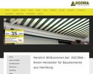 Bild Ascona Sonnenschutz-Bauelemente Hans-Joachim Leonhardt
