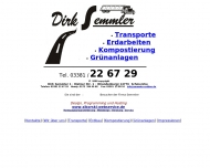 Bild Semmler Dirk Transporte und Baustoffhandel