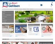 Bild Webseite Gehlsen Sylter Baustoffhandel Sylt-Ost