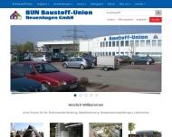 BUN Baustoff-Union Willkommen