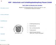 Bild HSP Holzschutz