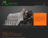 Bild Webseite Michael Liefke Kommunaler Tiefbau Berlin