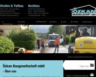 Bild Webseite Özkan Baugesellschaft Berlin