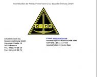 Bild Zimmermann & Co. Bauunternehmung Gesellschaft mit beschränkter Haftung