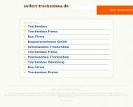 Bild Webseite Seifert Baugesellschaft Berlin