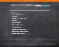 Bild Webseite Haenel Hamburg