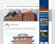 Bild Webseite Heins Baugeschäft Hamburg