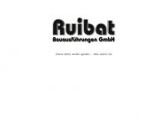 Bild Webseite Ruibat Wolfgang Bauausführung Berlin