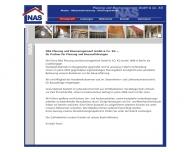 Bild Webseite Nas-Bauausführungen Berlin