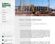 Bild Webseite Fallert & Schmidt Nürnberg
