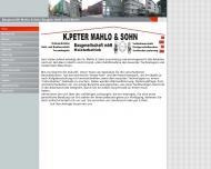 Bild Mahlo K.Peter & Sohn Baugesellschaft mbH