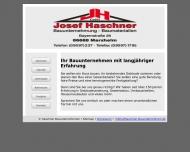 Haschner Bauunternehmen - den IHR Auge baut mit