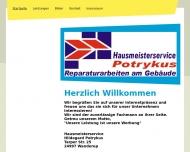 Bild Webseite  Wanderup