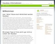 Bild Webseite Deutschmann Karl Bauausführungen Frankfurt
