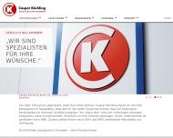 Website Köchling Beteiligung