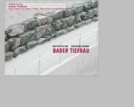 Bild Webseite Bader Reutlingen